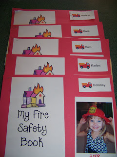 Day Care Fire Safety Books