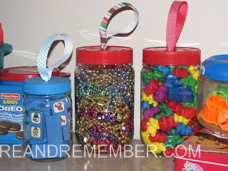Recycled Storage Jars
