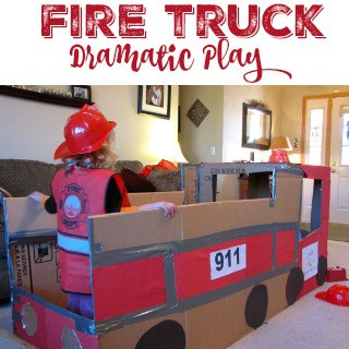Fire Truck Dramatic Play
