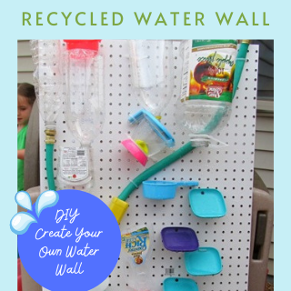 recycled water wall