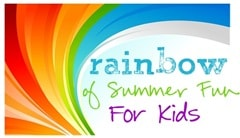 Rainbow of Summer Fun for Kids