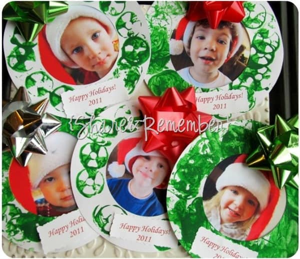 Holiday Photo Wreaths