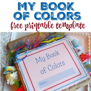 My Book Of Colors Printable