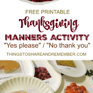 FREE PRINTABLE THANKSGIVING MANNERS