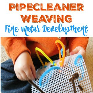 Pipecleaner Weaving