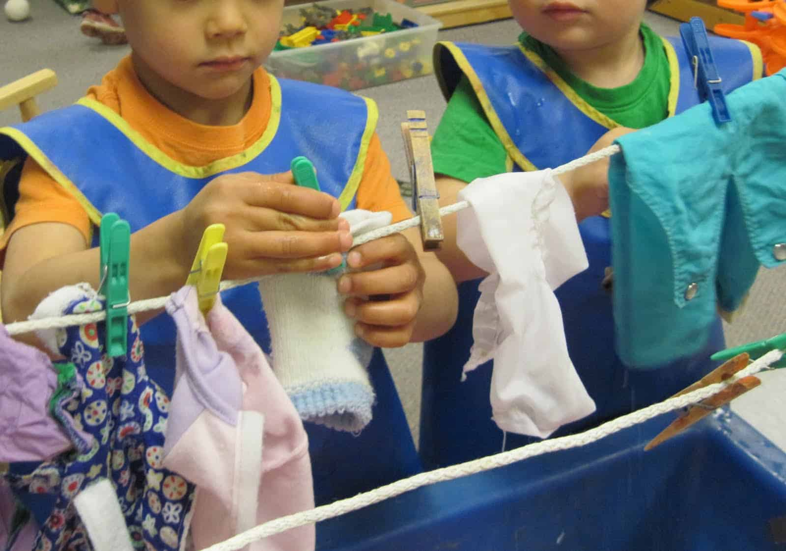 Laundry Day Dramatic Play