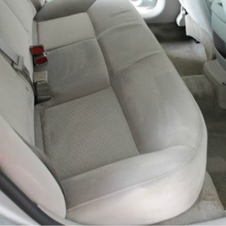 clean car upholster with Oxiclean