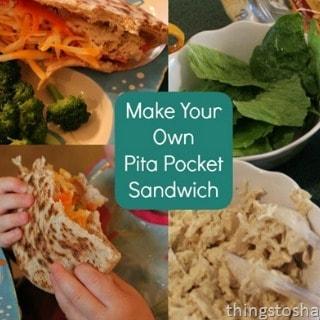 Make Your Own Pita Pocket Sandwich