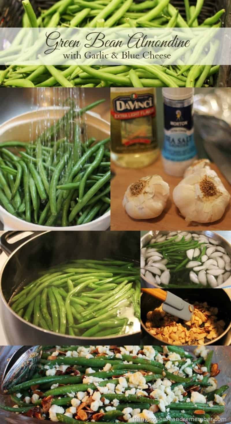#shop #MyPicknSave Blue cheese green bean almondine ingredients New Everyday