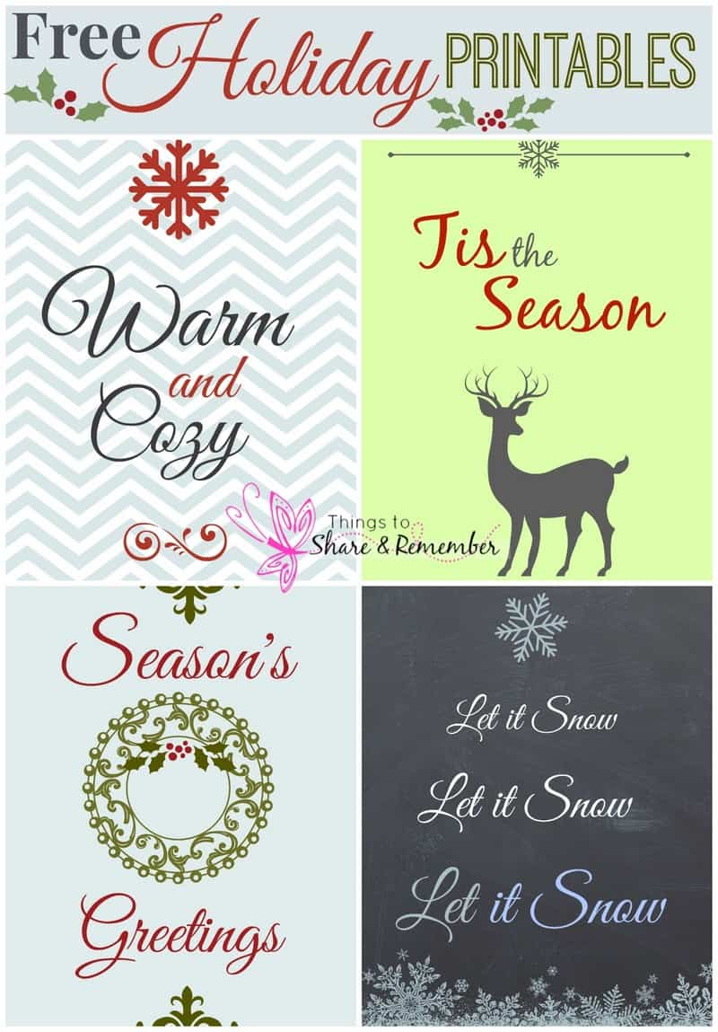 free holiday cards printables. Black Bedroom Furniture Sets. Home Design Ideas