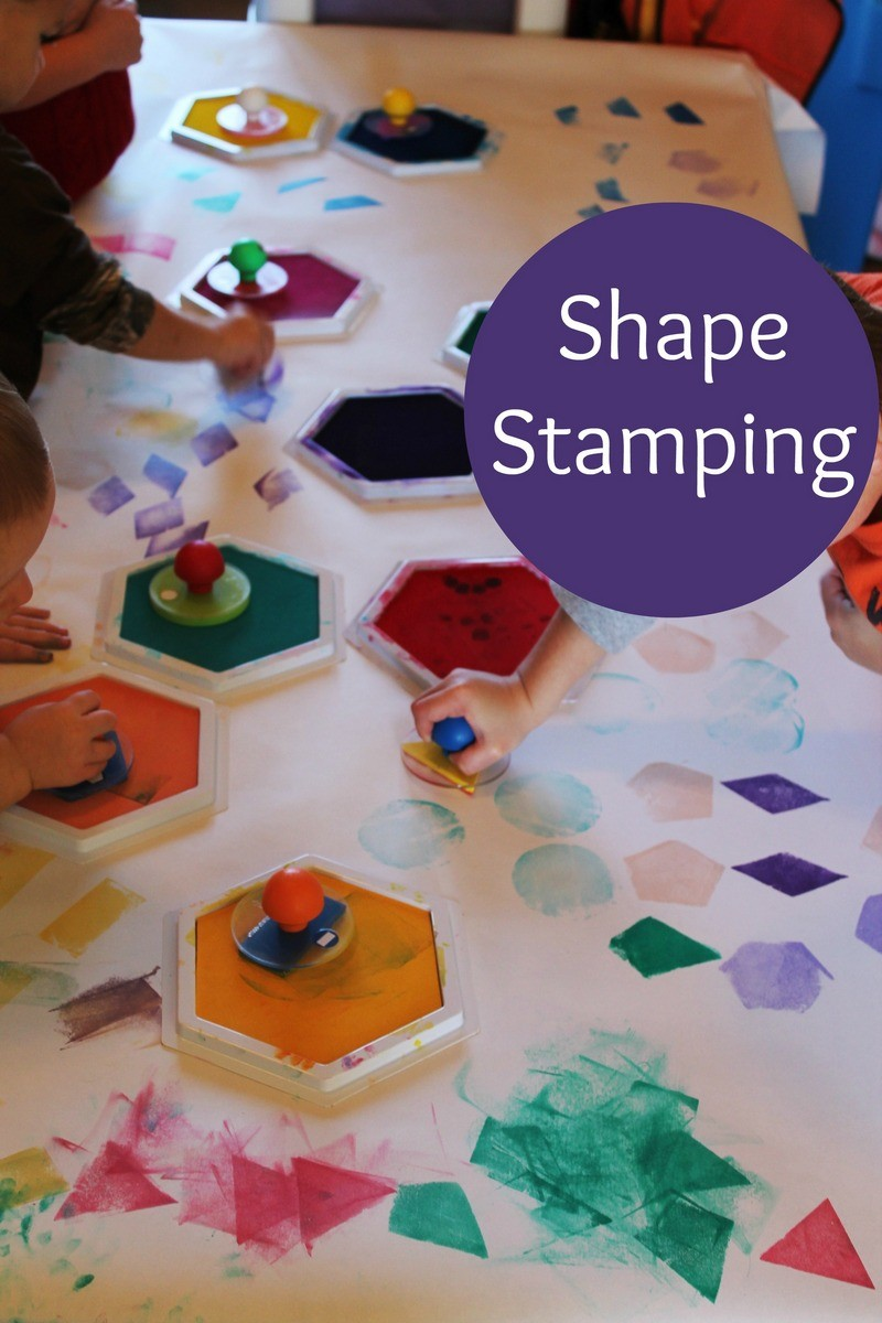 Exploring Shapes in Preschool
