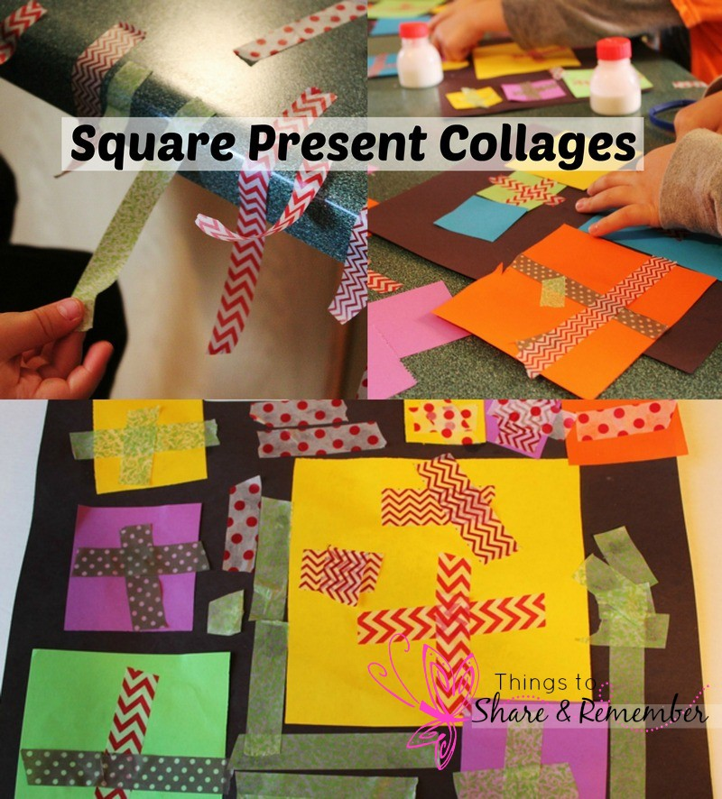 square present collages