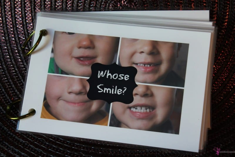 preschool dental theme homemade smile books