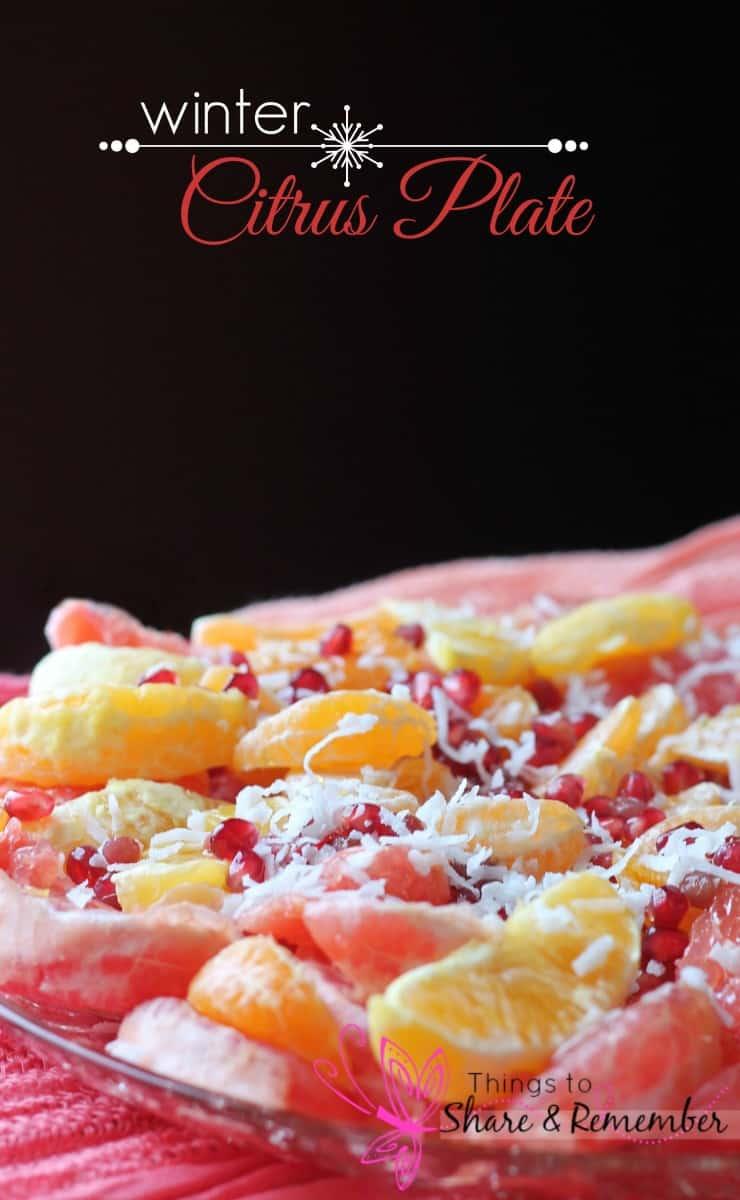 winter citrus plate recipe #shop #cbias #MyPicknSave