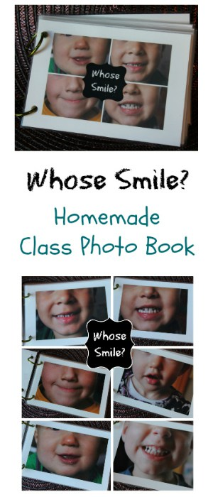 Whose Smile? Preschool Homemade Photo Book