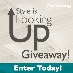 Armstrong Residential Ceilings Style is Looking Up Giveaway