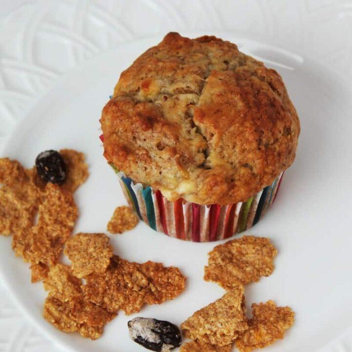 Banana Raisin Bran Muffins Recipe