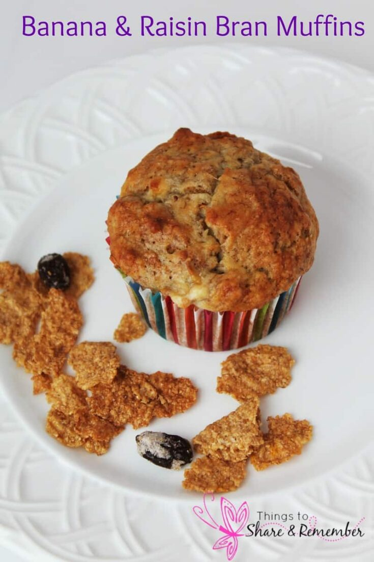 Banana Raisin Bran Muffins Recipe