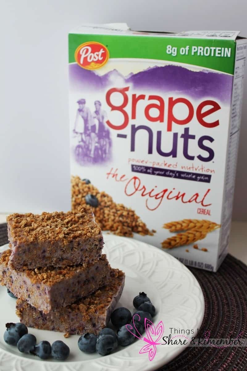 Grape-Nuts Frozen Yogurt cereal bars