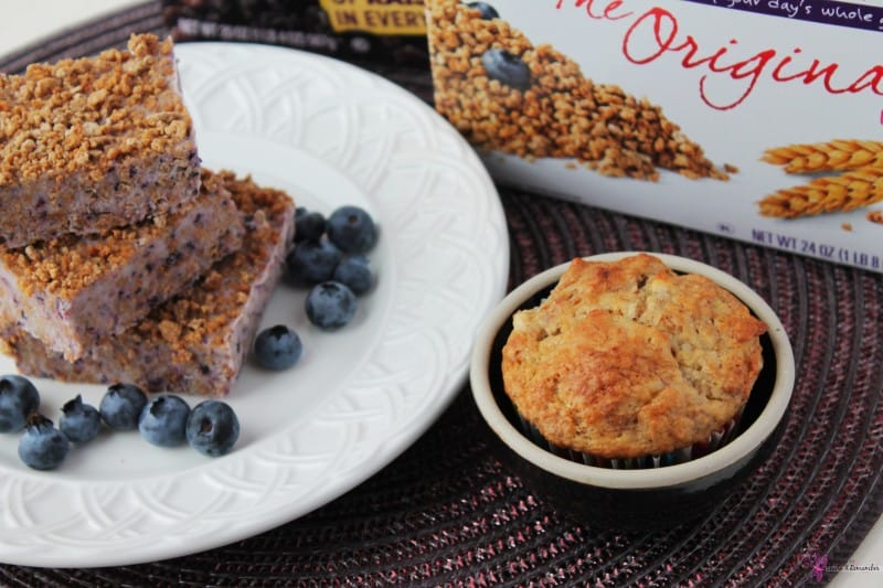 Banana Raisin Bran Muffins & Frozen Yogurt Grape-Nuts Bars