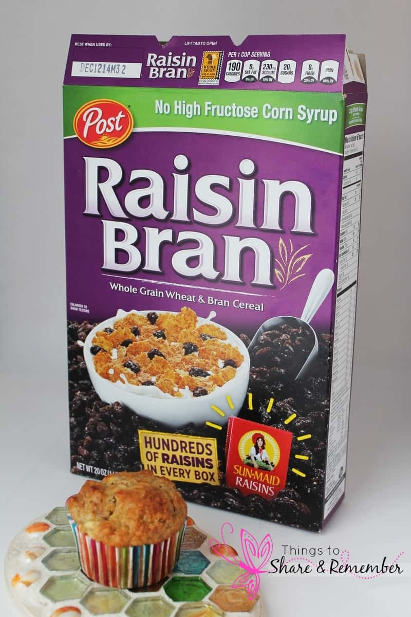 Post Cereals At Walgreens Banana Raisin Bran Muffins