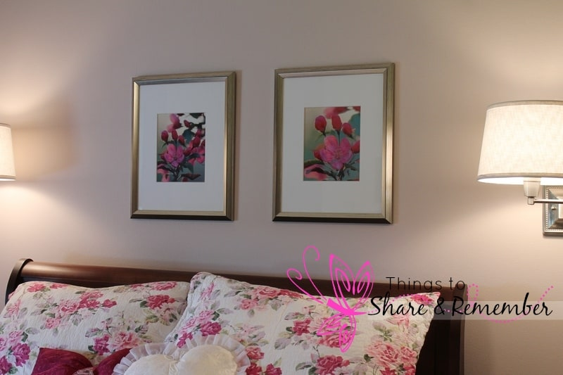DIY wall art using photos