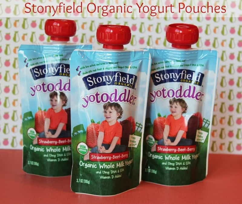 Stonyfield Organic Yogurt Pouches|Nutritious and Convenient #MC