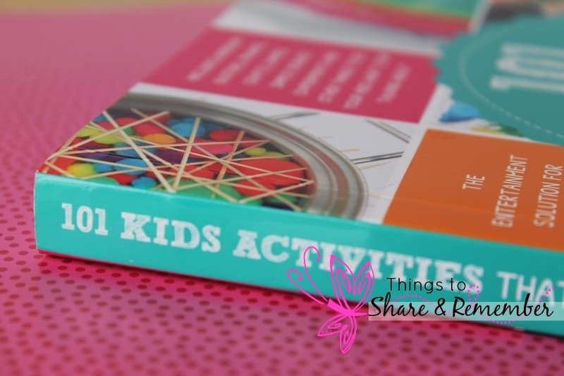 101 kid activities book side