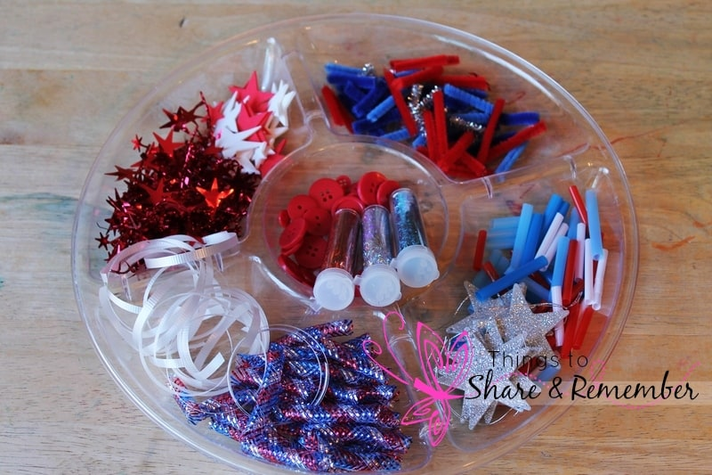 4th of July Sparkle Bottles fillers