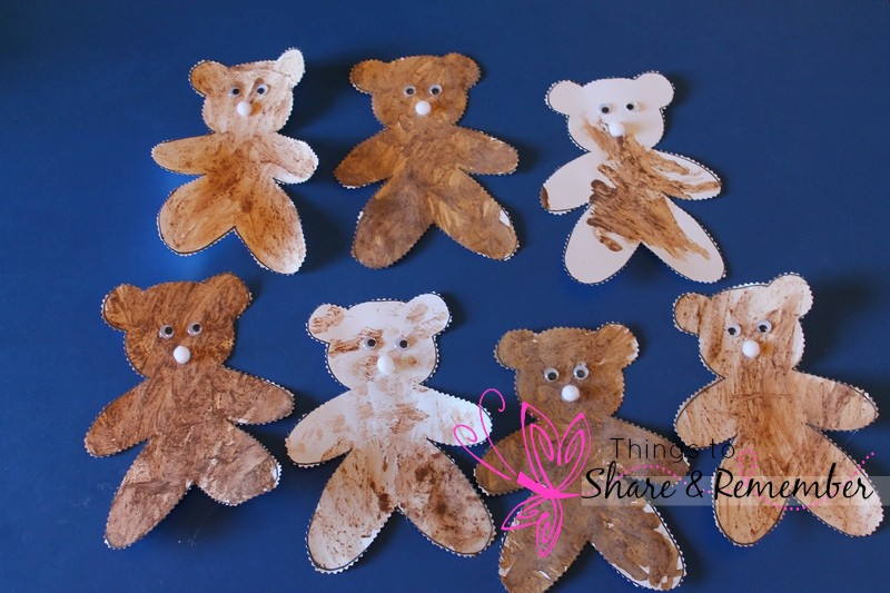 teddy bear picnic art