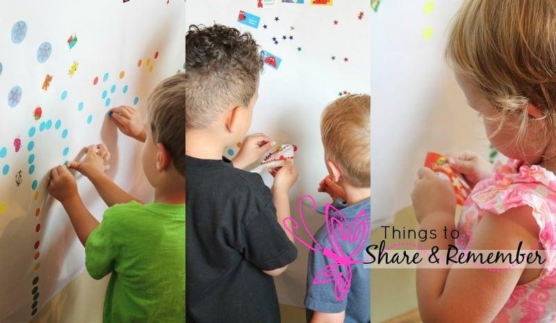 sticker mural kids