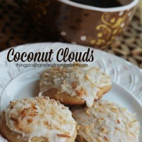 coconut cloud cookies