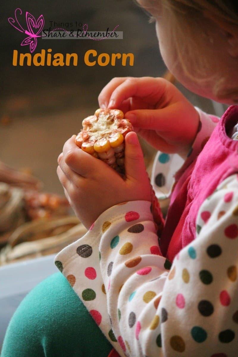 indian corn sensory science