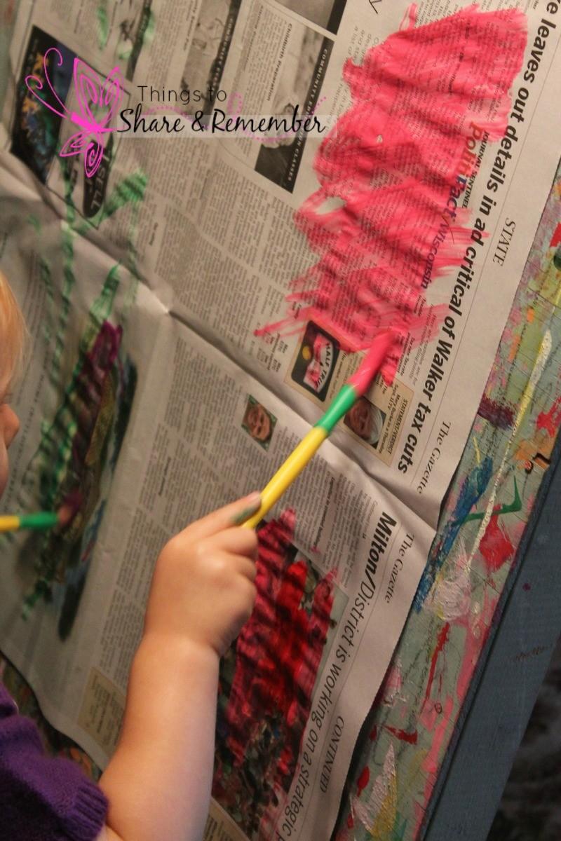 Newspaper Ideas for Preschoolers