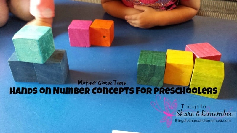 Hands on Number Concepts for Preschoolers