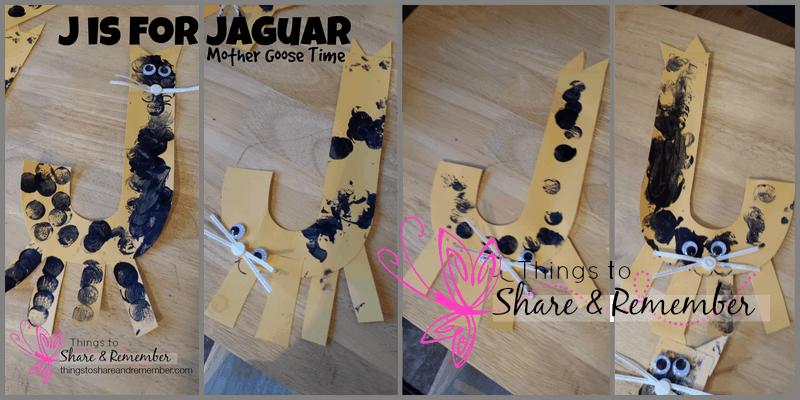 J is for Jaguar Rainforest Adventure Mother Goose Time
