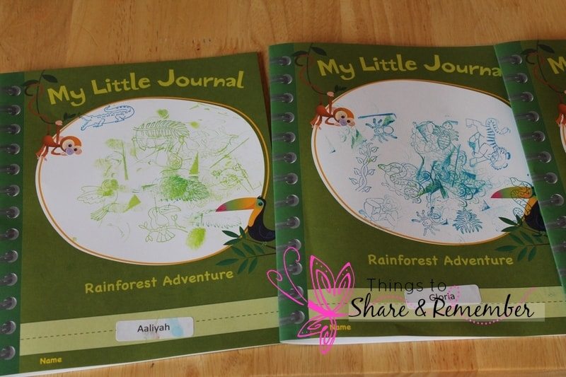My Little Journal - rainforest adventure Mother Goose Time