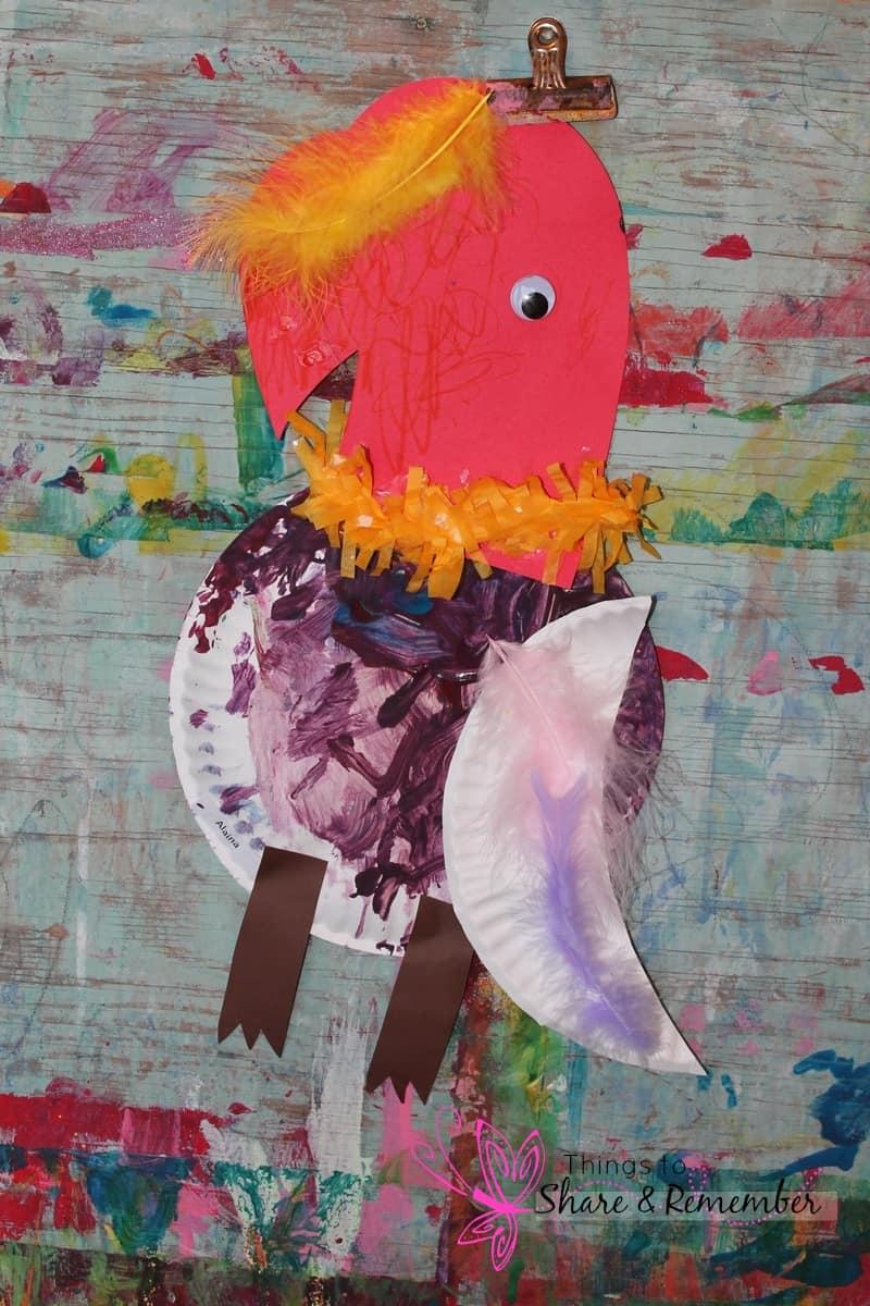 Rainforest Adventure Mother Goose Time parrot puppet