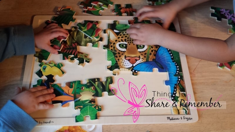 Rainforest Adventure Mother Goose Time puzzle