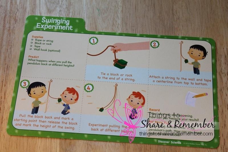 swinging experiment