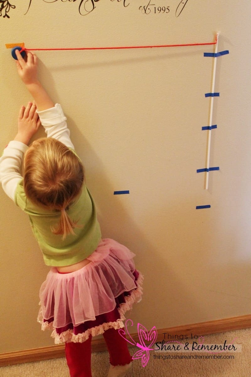Swinging Science Experiment for Preschoolers