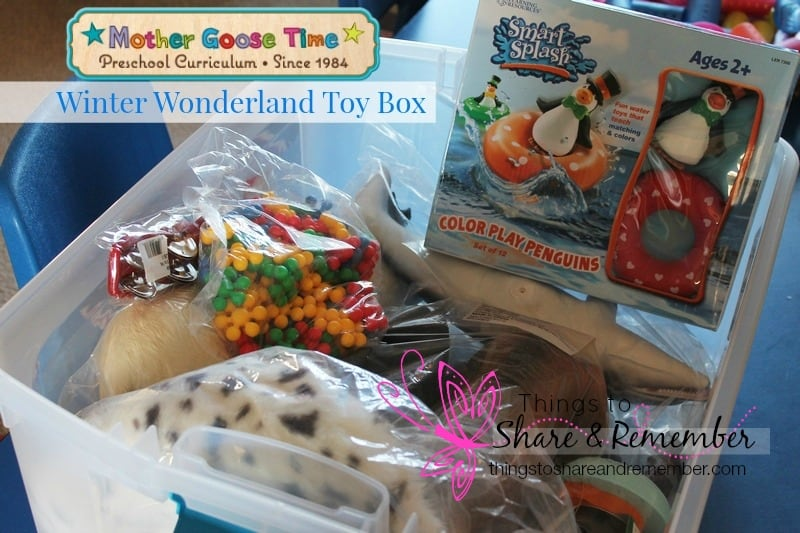 Mother Goose Time Winter Wonderland ToyBox Winter Theme Preschool Toys
