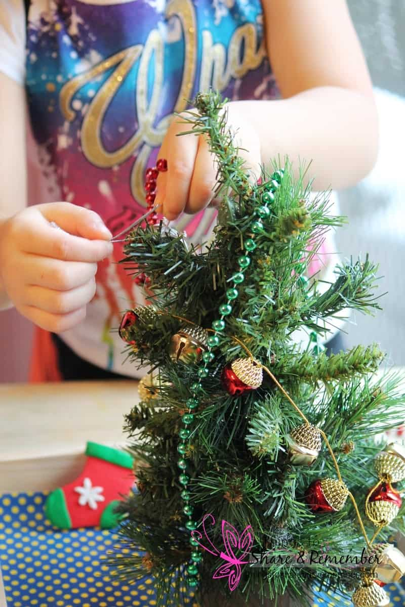 Trim the Tree Dramatic Play