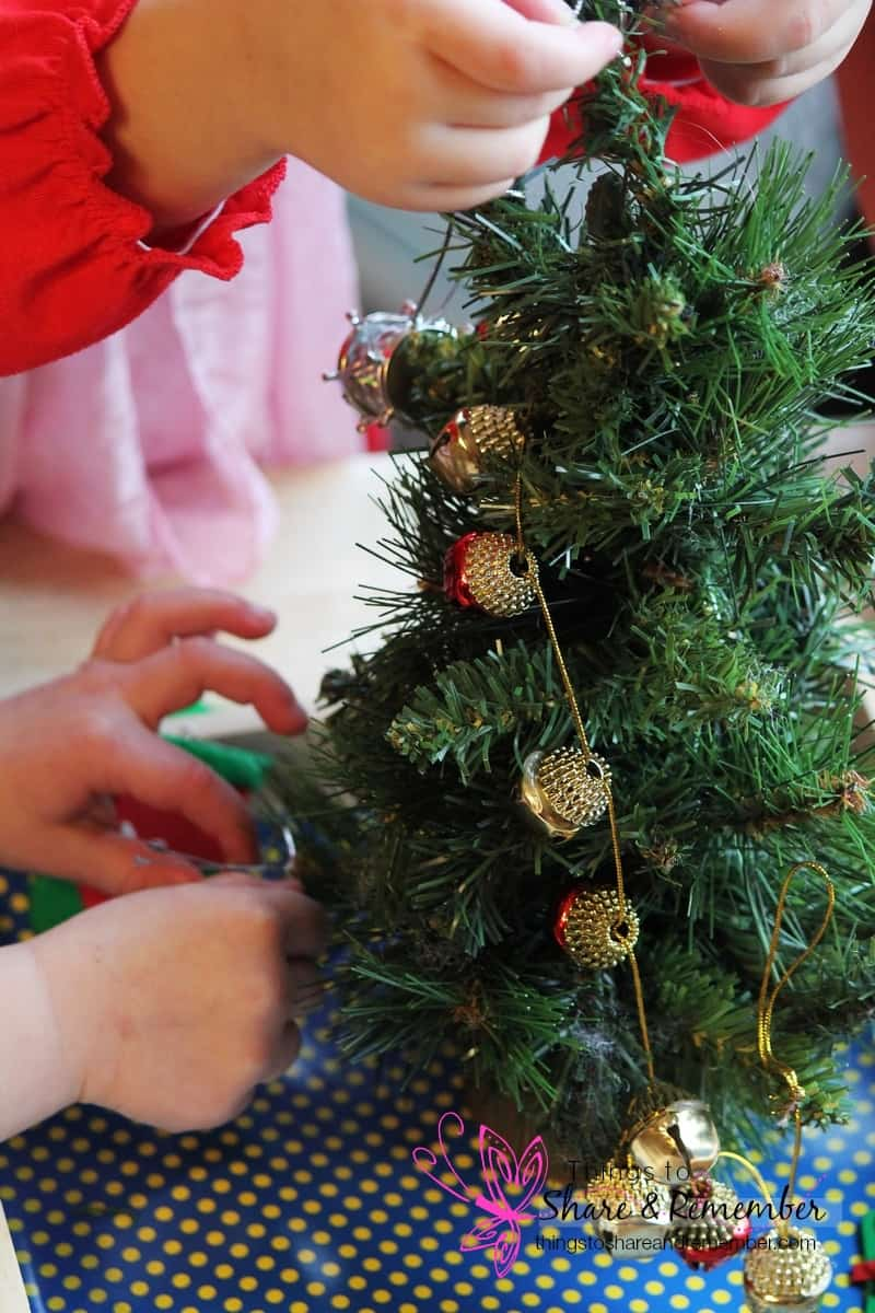 Trim the Tree Dramatic Play for Preschoolers