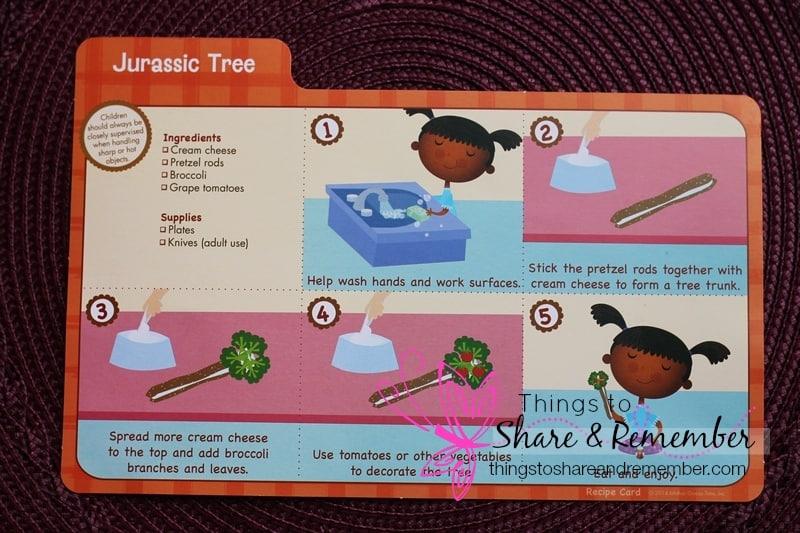 Jurassic Tree Recipe Card