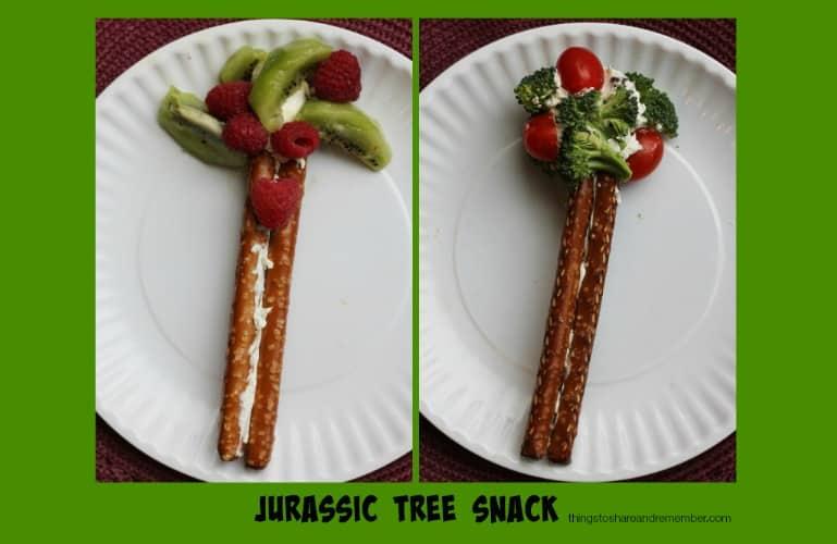 Jurassic Tree Dinosaur Themed Snack #MGTblogger