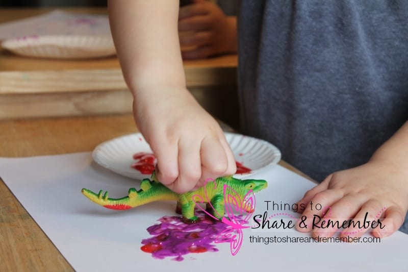 Dinosaur Dig Dinosaur Preschool Activities - dinosaur painting