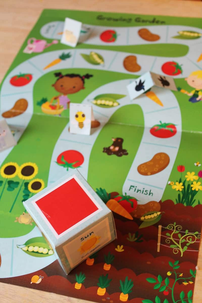 Experience a Day of Learning with Mother Goose Time - Garden Game