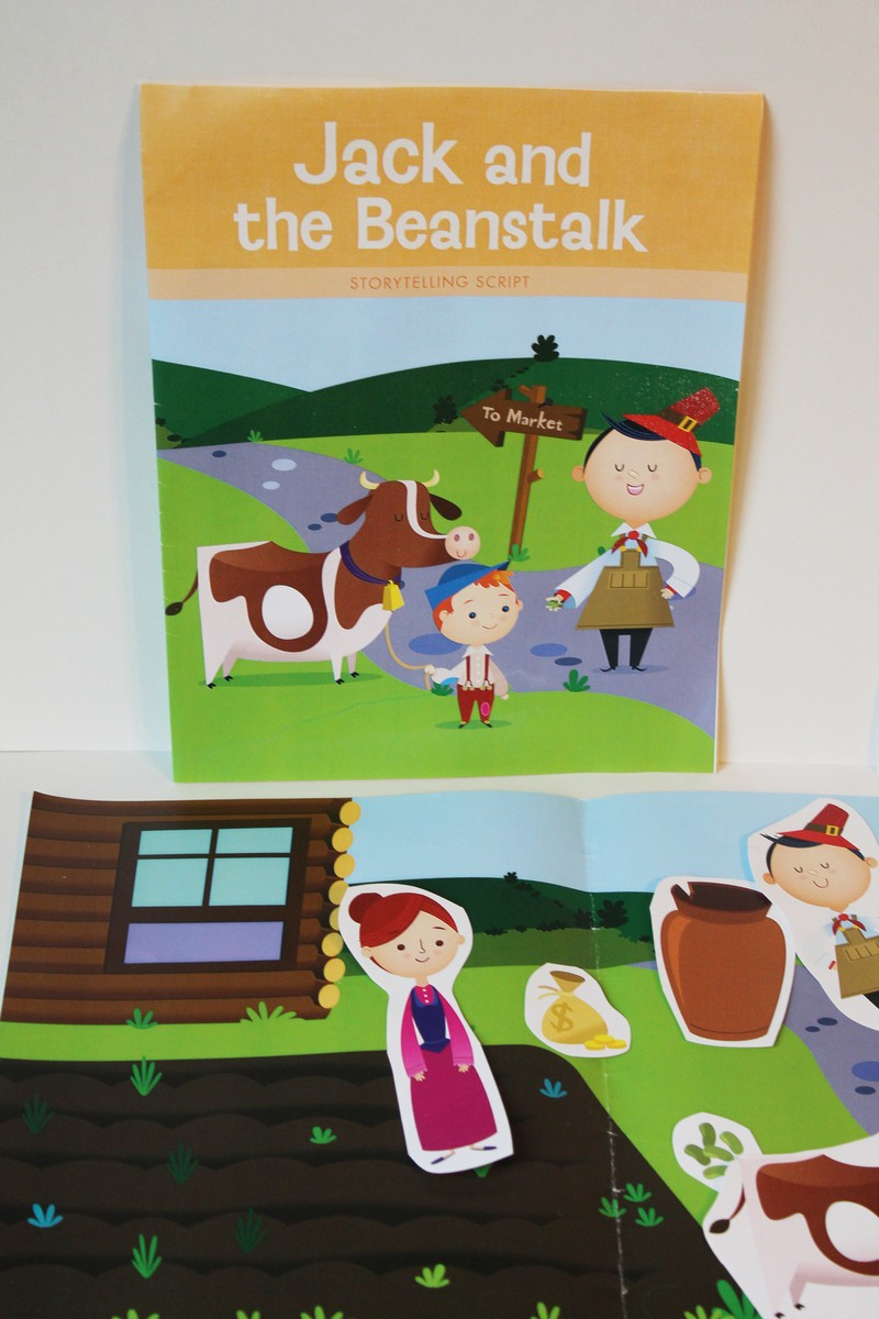 Experience a Day of Learning with Mother Goose Time - Jack & the Beanstalk storytelling set