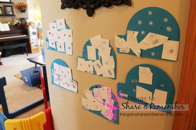 igloo preschool craft project
